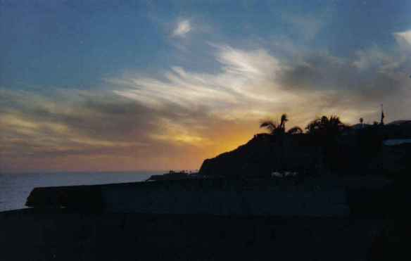 Malibu Sunset - Pacific Palisades, California