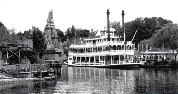Mark Twain's Steamboat - Disneyland, California (copyright 2010 JoshWillTravel)