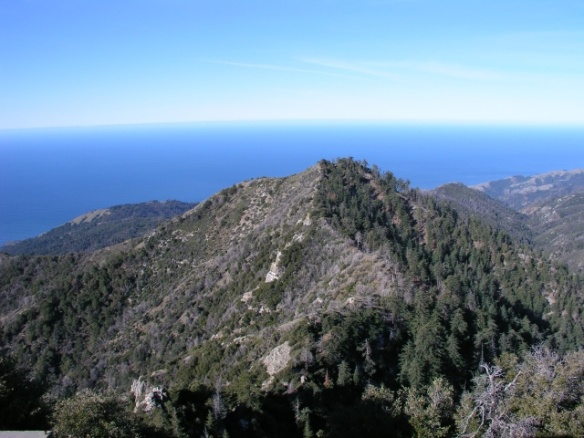 View from Cone Peak