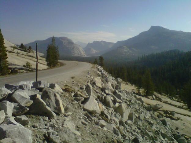 Tenaya Lake from Olmstead Point, Yosemite (copyright 201 Joshua Weisel)