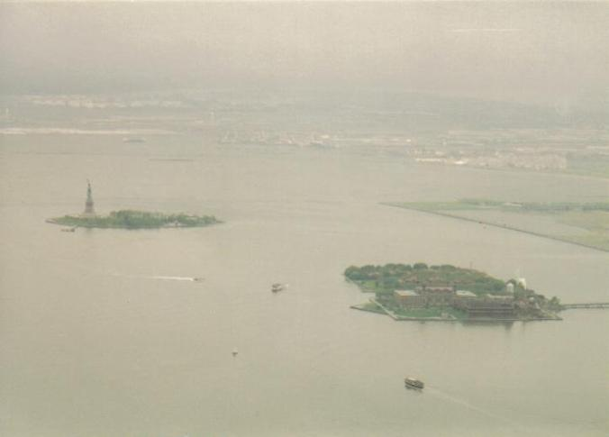 Statue of Liberty and Ellis Island - New York, New York (copyright 2010 JoshWillTravel)