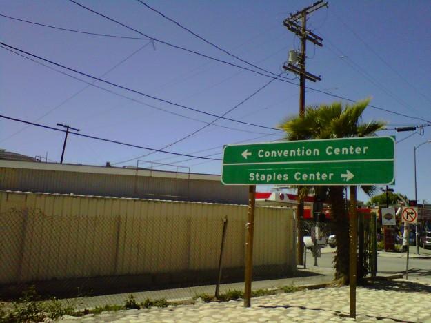 Convention Center or Staples Center (copyright 2013 JoshWillTravel)