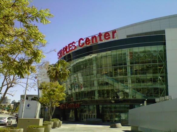 Staples Center (copyright 2013 JoshWillTravel)