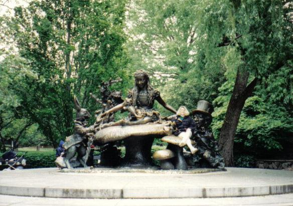 Alice in Wonderland - Central Park, New York City, NY (copyright 2010 JoshWillTravel)