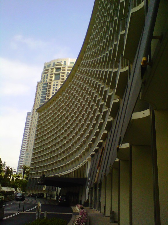 Hyatt Regency Century Plaza Hotel - Century City, CA (copyright 2013 JoshWillTravel)