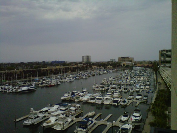 A Nice Day in Marina del Rey (copyright 2013 JoshWillTravel)
