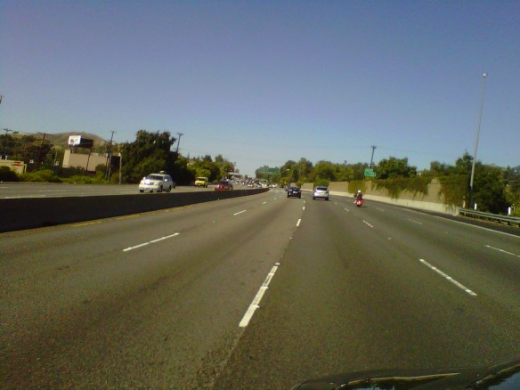 101 Freeway north