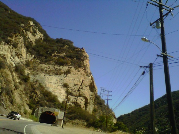 Malibu Canyon Tunnel to the San Fernando Valley