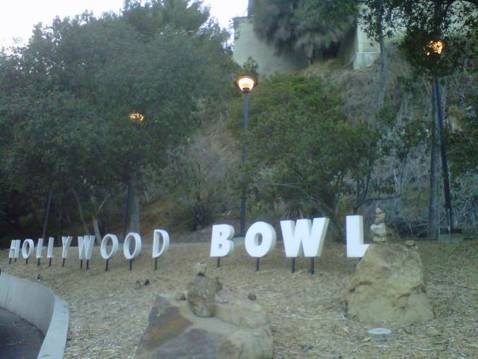 Hollywood Bowl (copyright 2013 JoshWillTravel)
