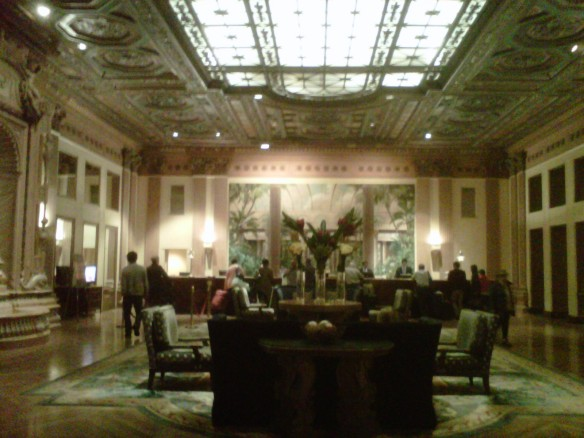 Millennium Biltmore Hotel Los Angeles (copyright 2013 JoshWillTravel)