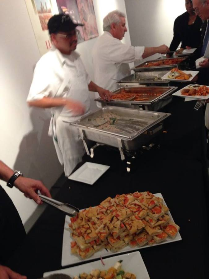 """""""Buy Tuscany"""" event at the Italian Cultural Institute (copyright 2014 JoshWillTravel)"""