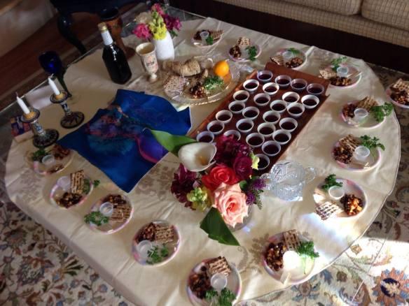 Passover Seder (copyright 2014 JoshWillTravel)