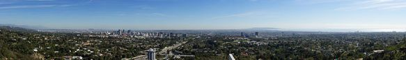 Panoramic View of West L.A. from the Getty Center