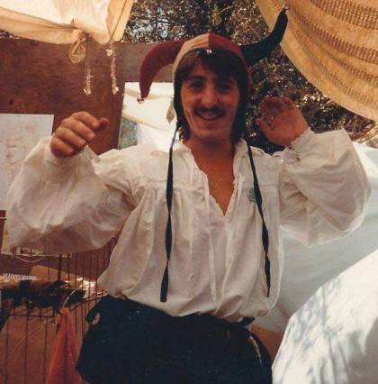 me at Faire fool1986