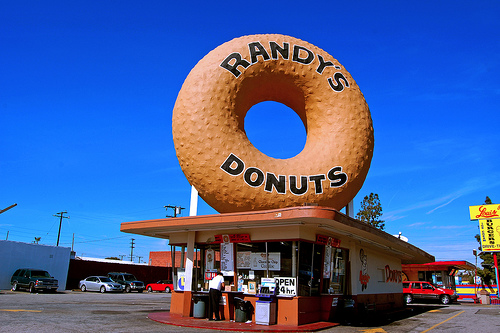 Randy's Donuts - a Los Angeles Landmark