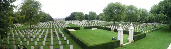 Beny-sur-Mer (Canadian) War Cemetery in Normandy, France
