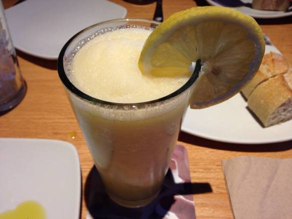 Drink - Frozen Mango Lemonade (copyright 2014 JoshWillTravel)