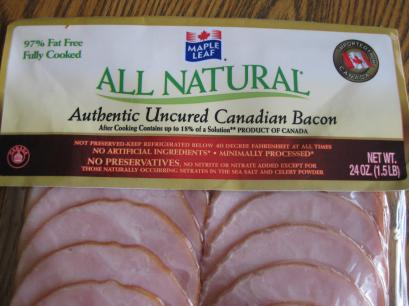 Mmmmm...Canadian Bacon.