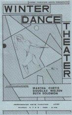 UCSC Winter Dance Theatre '86