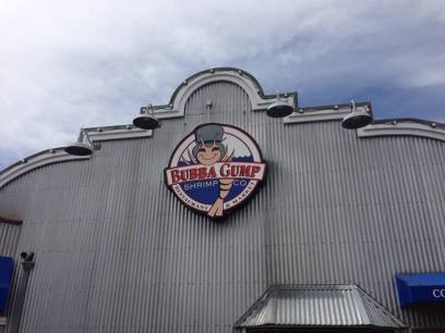 Bubba Gump's at Pier 39 in San Francisco