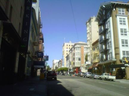On Sutter in San Francisco