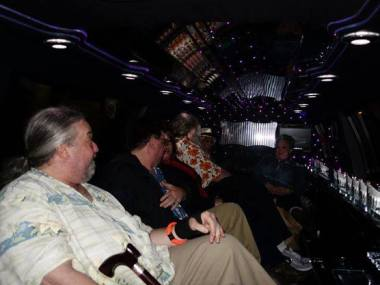 Limo! Let the Pub Crawl begin!