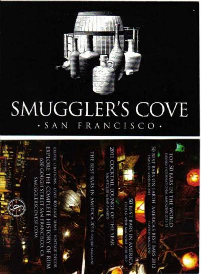 Smuggler's Cove - San Francisco