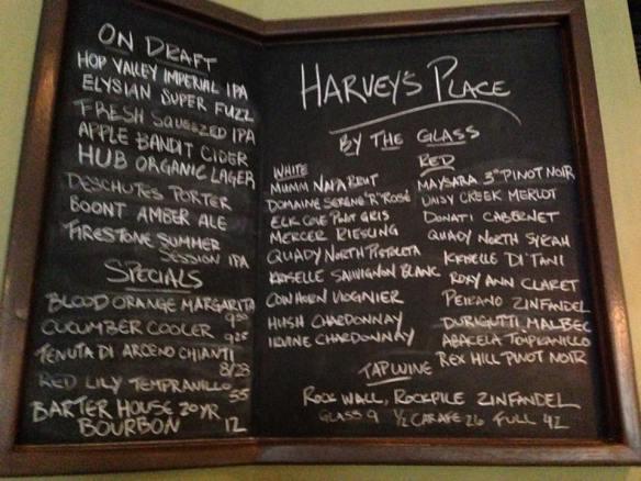 Harvey's Place in Ashland Oregon
