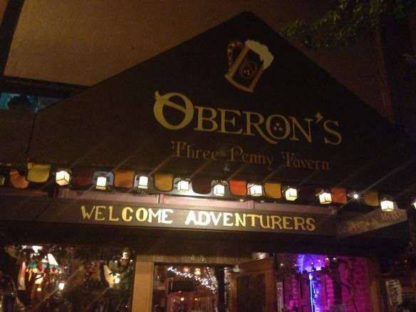 Oberon's Tavern in Ashland Oregon