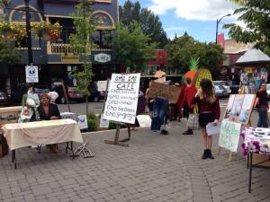 Anti-GMO Protest in Ashland, Oregon