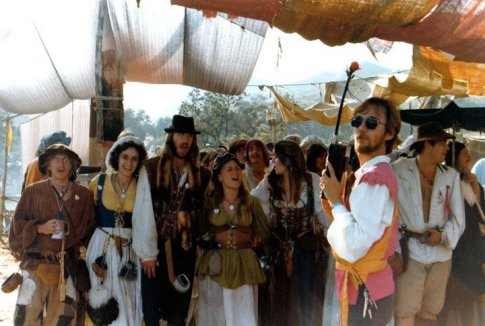 St. Paul's Ringout at the Renaissance Faire - Agoura 1983