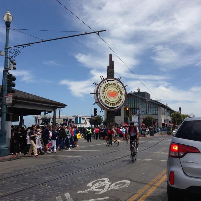 Fisherman's Wharf in San Francisco (copyright 2014 JoshWillTravel)