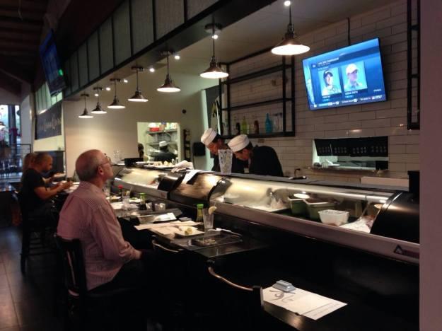 Sushi 2 U in Encino (copyright 2015 JoshWillTravel)