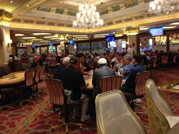 The Poker Room at The Venetian Hotel