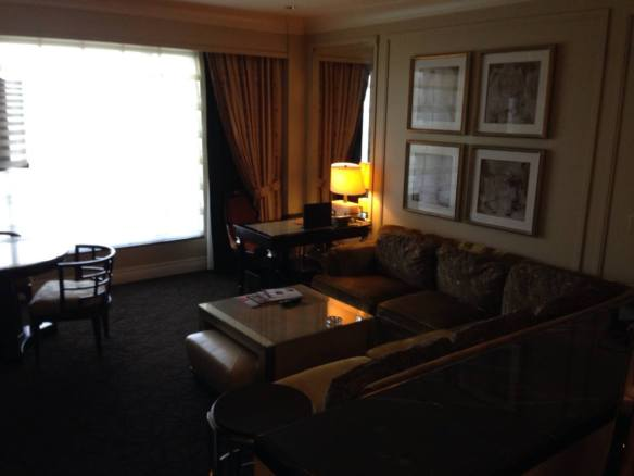 Suite at The Palazzo Hotel