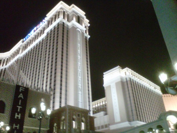 The Venetian Hotel & Casino (pic from a previous trip)