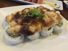 Baked Scallop California Roll