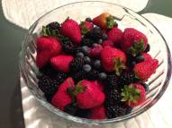 Just a Bowl of Berries!