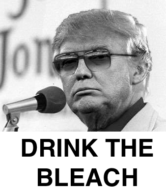 drink the bleach